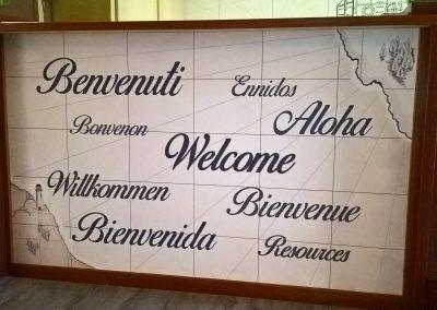 Messaggio di benvenuto Hotel Stella del mare a Chiavari