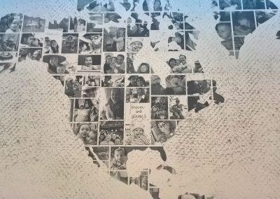 Si possono creare immagini da parete con le vostre foto. (7)